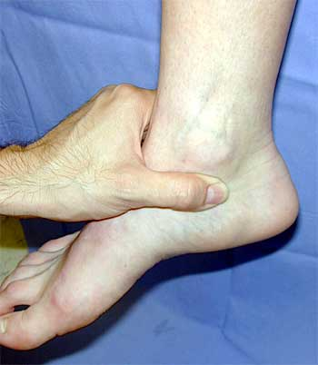 Inner Ankle Pain