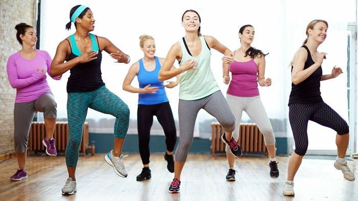 can running shoes be used for zumba